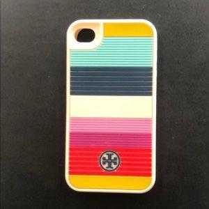 Tory Burch iPhone 4 rubber case